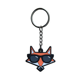 Custom Made Soft PVC Keyring Cute Promotional 3D PVC Keychains